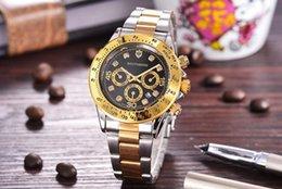 2019 Bandas de Aço Inoxidável Relógio de Quartzo Homens Relógio de Quartzo Relógio de Pulso Famoso Relógio Homens Relógio Relógios com Data FRETE GRÁTIS 12414 # venda por atacado