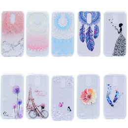 Nexus cases online shopping - feather painting Soft TPU Case For Coque LG X Power ThinQ G6 Q6 V20 V30 G5 G4 Q7 K4 K8 K11 K10 Nexus X Case