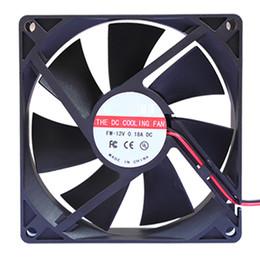 Quiet Pc Fans Australia - New 2018 1 PCS 9cm high speed quiet fan 90mmx90mmx25mm computer case CPU cooling radiator
