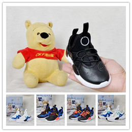 running shoe huaraches Australia - Hot Sale Kid Fashion Air Huarache 7 Running Shoes Huaraches Rainbow Breathe Shoes kids Huraches Multicolor Sneakers Shoes