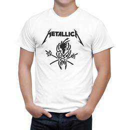 $enCountryForm.capitalKeyWord NZ - Summer Fashion Cotton T Shirt Men women Hard Metal Rock Band Short Sleeve Casual Top Tee Camisetas Masculina B0135