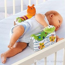 toddler sleep pillow 2019 - Wholesale Sozzy Infant Sleep Positioner Baby Anti-roll Pillow Baby Pillow Infant Toddler Ultimate Vent Sleep System Baby