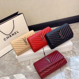 2020 New free shippingYSLWomen Famous Shoulder Bag Luxury Handbags Purses Chain Fashion Crossbody Bag Fashion Crossbody Bag 11 on Sale