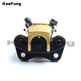 PumP clamP online shopping - New High Performance mm Gold Disc Brakes Front Brake Calipers Clamp Lower Pump Motorcycle Parts For ATV Dirt Pit Bike