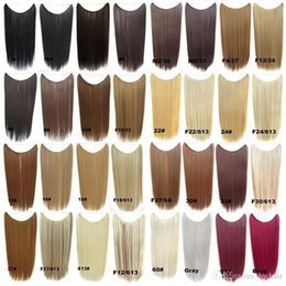 Blonde Halo Hair Australia - CE Certificated brazilian halo Flip in halo human Hair Extensions halo 1piece 100G Easy Fish Line Hair Weaving Wholesale Price