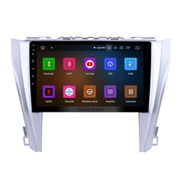Camry Android Dvd Gps Australia - 1024*600 Touchscreen Android 9.0 Car Multimedia Player for 2015 2016 2017 Toyota CAMRY With Bluetooth GPS Navi Music wifi support 4G Car dvd
