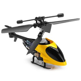 flashing helicopter toy Australia - QS5013 2.5Ch Semi-micro RC Quadcopter Control Helicopter