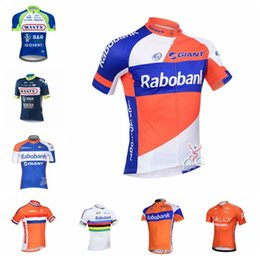 RABOBANK RALLY Wanty team Cycling Short Sleeves jersey Mountain Bike  Clothing Bicycle Clothes Wear Ropa Maillot Ciclismo 012333F 9701ec752