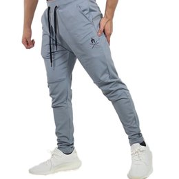 skinny tracks NZ - New Mens Joggers Casual Pants fashion Fitness Men Sportswear Tracksuit Bottoms Skinny Sweatpants Trousers Jogger Track Pant