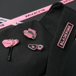 95cdfde96ff2f1 Kpop Hats NZ - Kpop Wanna One Blackpink Exo Got7 Seventeen Twice Badge Fans  For Clothes