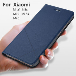 Wholesale Hand Made For Xiaomi Mi A2 Lite A1 X X S Mi Lite SE Leather Case For Mi Max Fashion PU Flip Cover Card Slot Stand