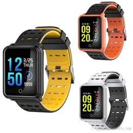 Großhandel N88 Smart Watch Männer Smartwatch Frauen Wasserdichte Herzfrequenz Blutdruckmessgerät Sport Armband Fitness Track Band Wecker Pk Fitbit