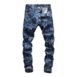 skinny jeans for plus size men Canada - 2020 mens jeans high quality hip hop plus size jean pants for men new tide dance pants mens skinny jeans luxury pants