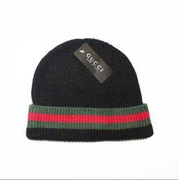 a7f5e389d4e 2018 mens designer hats bonnet winter beanie knitted wool hat plus velvet  cap skullies Thicker mask Fringe beanies 21751