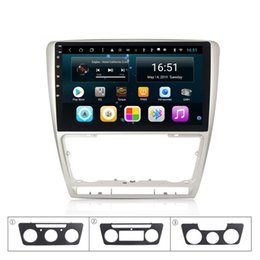 $enCountryForm.capitalKeyWord Australia - Android car player with GPS Resolution HD 1024*600 multi-touch screen bluetooth mcrophone lossless music for VW skoda octavia II A5 10.1inch