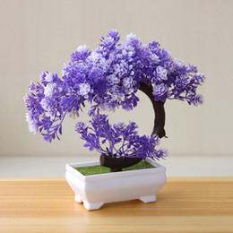 $enCountryForm.capitalKeyWord Australia - Plant Bonsai Hotel Fake Artificial Small Potted Flowers Tree Pot Table Simulation Plastic Home Decor Ornaments Garden