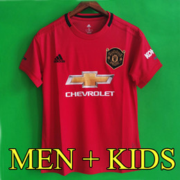 68b92bbe0 Thailand POGBA LINGARD 18 19 20 manchester soccer united jerseys utd 2019  2020 RASHFORD football kit MARTIAL jersey shirt men and kids sets