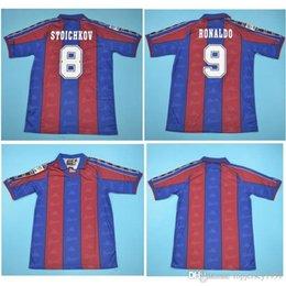 التايلاندية 96 97 رونالدو الرجعية لكرة القدم الفانيلة قميص كرة القدم الرئيسية 1996 1997 رونالدو جيرسي كلاسيك مايوه دي فوت