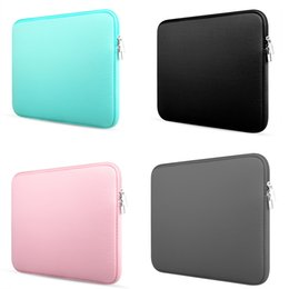 15 inch neoprene laptop sleeve Australia - 2019 Fashion new Laptop Bag 11 12 13 14 15 15.6 inch Laptop Case Cover for Macbook Air  Pro Retina Unisex Liner Sleeve SH190924
