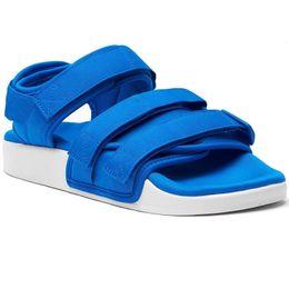Black flat platform strap sandals fashion online shopping - Men Sandals W Slides Shoes Women Platform Sports Huaraches Slippers Causal Summer Beach Designer Shower Pool Slide Shoes S75382