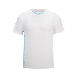 3d shirts size xxxl UK - Luxury Mens Designer T Shirt Mens Clothing 3D letter Summer T Shirt Hip Hop Men Women Short Sleeve Size M-XXXL white black