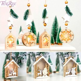 $enCountryForm.capitalKeyWord Australia - FENGRISE LED Christmas Tree Decoration House Style Fairy Light Christmas Light Garland New Year Decorations for Home