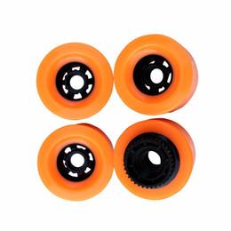 $enCountryForm.capitalKeyWord Australia - 1pcs 90mm Pu Wheels With Gear E-Skateboard Wheels Longboard SHR83A Hardness 90X52 High Rebound For Patineta Electrica