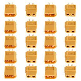 Plug Toys Male Australia - XT60 XT-60 Male Female Bullet Connectors Plugs For RC Lipo Battery 20pcs set