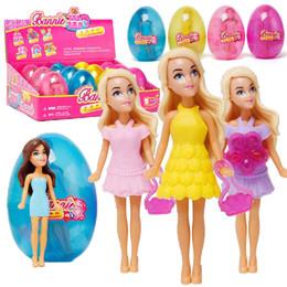 $enCountryForm.capitalKeyWord Australia - Lovely Girls Pet Egg House Doll Gift Early Childhood Education Toy Role Play New Fashion Pet Egg Doll Toys