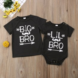 chemises grand frère achat en gros de-news_sitemap_homeNouveau né bébé Little Brother Boy Romper Big Brother T shirt Vêtements Outfit Nouveaux
