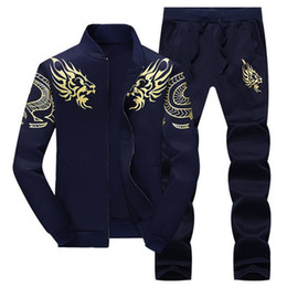 $enCountryForm.capitalKeyWord Australia - Jacket+pant Polo Set 2019 Casual Men Sporting Suit Hoodie Mens Tracksuit Sweatshirt Male Two Pieces Set