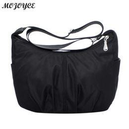 $enCountryForm.capitalKeyWord Australia - Waterproof Nylon Women Messenger Bags Female Hobos Crossbody Shoulder Bags Casual Clutch Carteira Vintage Hobos Ladies Handbags Y190606