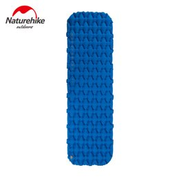 Wholesale Naturehike New Portable Outdoor Camping Hiking Single Double Thicken Moisture proof Inflatable Sleeping Mattress Mat Pad Bed Bag