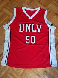 Cheap custom Greg Anthony  50 UNLV Rebels Stitch College Basketball Jersey  Stitched Customize any name number MEN WOMEN YOUTH JERSEY XS-5XL 197d7c09a