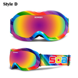 $enCountryForm.capitalKeyWord Australia - Ski Goggles Kids Double Layers UV Protection Anti-fog Windproof Snow Skiing Glasses Winter Girls Boys Eye Wear 3-7 Years Old