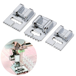 Wholesale foot sewing machine for sale - Group buy 1Pcs Grooves Sewing Machine Foot Making Pleat Tank Presser Feet for Janome Singer etc Household Sewing Machine Accessories