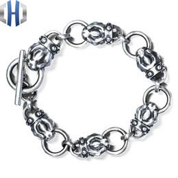 Discount silver bracelets men designs - Original Design Handmade Silver Bracelet Bracelet Personality 925 Silver Snake Snake Head Men And Women