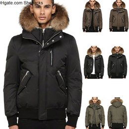 boys winter bomber jacket Canada - Canada Luxury Winter Warm Brand Clothing Jackets Mac Dixon-F4 Winter Down Bomber Jacket Thick Men s Down Jacket for Men Hooded Coat Male