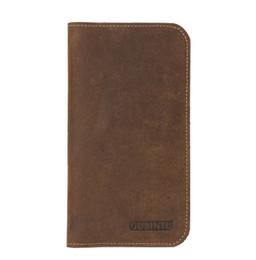 $enCountryForm.capitalKeyWord UK - Geniune Cow Leather Men Wallets Card Holder Phone Pocket Long Wallets Vintage High Quality Brand Male wallets