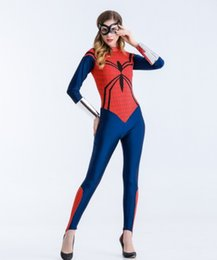 adult women superhero costumes Australia - New Halloween Costume Female Adult Party Marvel Superhero Movie Theme Cosplay Costume Spiderman Role Playing S-XL