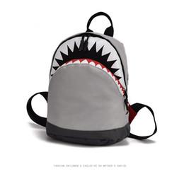 $enCountryForm.capitalKeyWord Australia - Kids 3D Model Shark School Bags Baby mochilas Child's School Bag for Kindergarten Boys and Girls Bagpack Child Canvas Backpack