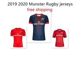 88833b3d214 free shiping 2019 2020 Munster Rugby jerseys MUNSTER city rugby home away  men 19 20 Munster shirts top quality Ireland club rugby shirt size