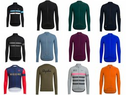 Spring autum Breathable RAPHA team Cycling long Sleeves jersey Ropa Ciclismo Quick Dry Men Mtb outdoor sportwear on Sale