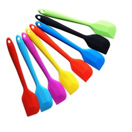 $enCountryForm.capitalKeyWord Australia - Large silicone scraper Baking diy cream mixing tool Food grade high temperature silicone blender kitchen supplies Cake Tools A04