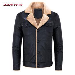 $enCountryForm.capitalKeyWord Australia - MANTLCONX 2019 4XL Men's PU Jacket Leather Coat Slim Fit Faux Leather Motorcycle Jackets Male Coats Thermal Casual Jacket Warm