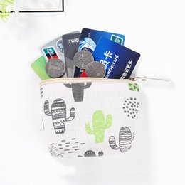 $enCountryForm.capitalKeyWord Australia - New Canvas Coin Purse Women Kids Floral Zipper Change Pouch Small Wallet Female Key Credit Card Holder Case Bag Cute Purses