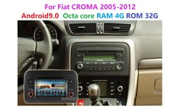 spanish audio Australia - Android 9.0 PX5 OCTA CORE RAM 4G ROM 32G 2DIN Car DVD Player For Fiat Croma 2005-2012 Wifi GPS BT Radio audio multimedia stereo
