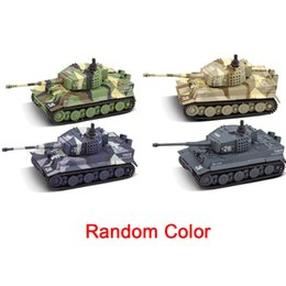 mini motor parts Australia - Gift Mini Toy Parts German Remote Control Kids Tiger Tank Simulation For Child RC Cars