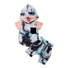 $enCountryForm.capitalKeyWord UK - 2Pcs Infant Kids Baby Girl Boy Clothing Hoodie Tops T-shirt Shorts Cotton Casual Outfit Clothes Baby Boys