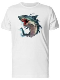$enCountryForm.capitalKeyWord Australia - Shark Mouth Painting Men's Tee -Image by Shutterstock